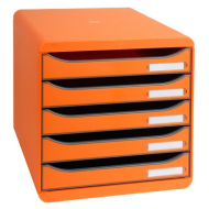 CASSETTIERA EXA BIG-BOX ARANCIO 09788