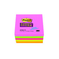 BLOCCO POST-IT SUPERSTICKY 8x8 654S-N
